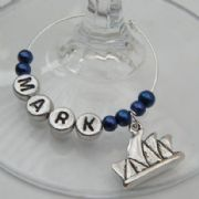 Australian Landmark Personalised Wine Glass Charm